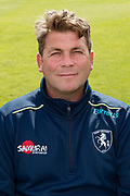 Matt Walker (Head Coach) of Kent  during the Kent County Cricket Club Headshots 2017 Press Day at the Spitfire Ground, Canterbury, United Kingdom on 31 March 2017. Photo by Martin Cole.