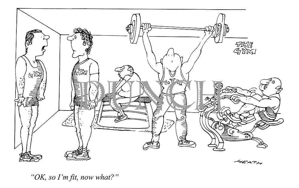 """""""OK, so I'm fit, now what?"""""""