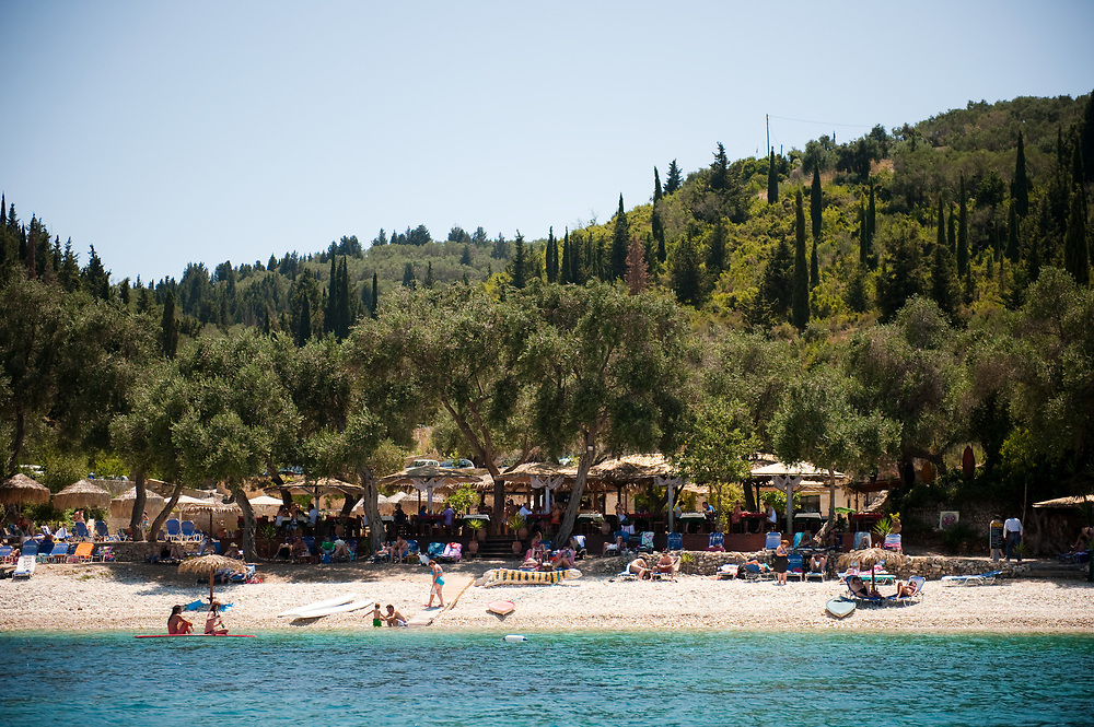 Manadendri beach, Paxoi, Greece