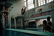 Diving school. Chongqing, China, 2007