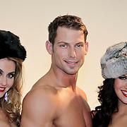 NLD/Amsterdam/20110328 - Fotoshoot voor Sapph Lingerie, Joel Geleynse, Melissa Sneekes en modellen