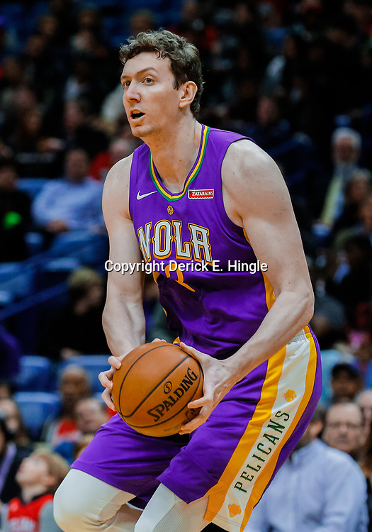 Jan 30, 2018; New Orleans, LA, USA; New Orleans Pelicans center Omer Asik (3) against the Sacramento Kings during the first quarter at the Smoothie King Center. Mandatory Credit: Derick E. Hingle-USA TODAY Sports