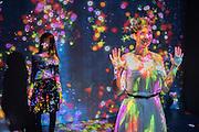 CHARLOTTE LEIMER; LILIA WINTER; ; Team Lab, Transcending Bourndaries, Pace Gallery, Burlington Gardens. London. 24 January 2017