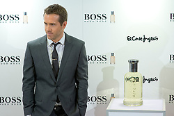 Canadian actor Ryan Reynolds, celebrates 15 years of the successful fragrance Boss Bottled by Hugo Boss in the English Court of La Castellana of Madrid, Spain, Tuesday, 26th November 2013. Picture by Oscar Gonzalez / i-Images<br /> <br /> SPAIN OUT