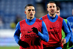 Anthony Knockaert and Glenn Murray of Brighton & Hove Albion - Mandatory by-line: Robbie Stephenson/JMP - 02/02/2017 - FOOTBALL - John Smith's Stadium - Huddersfield, England - Huddersfield Town v Brighton and Hove Albion - Sky Bet Championship