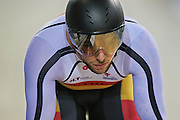 Eddie Dawkins competes in the (ME) Sprint in the Avanti BikeNZ Classic, Avantidrome, Cambridge, New Zealand, Thursday, September 18, 2014, Credit: Dianne Manson/BikeNZ