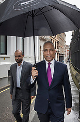 © Licensed to London News Pictures. FILE PICTURE 17/05/2017. London, UK. Former mayor of Tower Hamlets, LUTFUR RAHMAN arrives at the The Royal Courts of Justice in London for a Judicial review into the Election Court's ruling earlier this year that he should be removed from office. LUTFUR RAHMAN today (22/06/2017) lost his appeal. Photo credit: Peter Macdiarmid/LNP