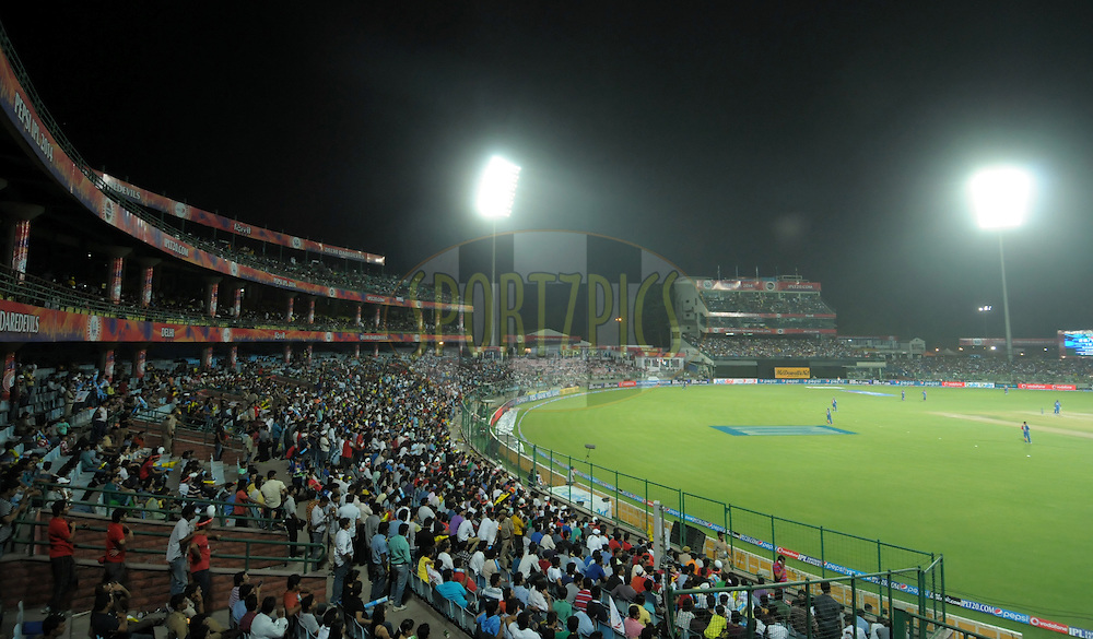 A view of ground during match 23 of the Pepsi Indian Premier League Season 2014 between the Delhi Daredevils and the Rajasthan Royals held at the Feroze Shah Kotla cricket stadium, Delhi, India on the 3rd May  2014<br /> <br /> Photo by Arjun Panwar / IPL / SPORTZPICS<br /> <br /> <br /> <br /> Image use subject to terms and conditions which can be found here:  http://sportzpics.photoshelter.com/gallery/Pepsi-IPL-Image-terms-and-conditions/G00004VW1IVJ.gB0/C0000TScjhBM6ikg