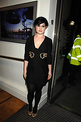 KELLY OSBOURNE at a party to celebrate the launch of the new Fiat 500 car held at the London Eye, Westminster Bridge Road, London on 21st January 2008.<br />