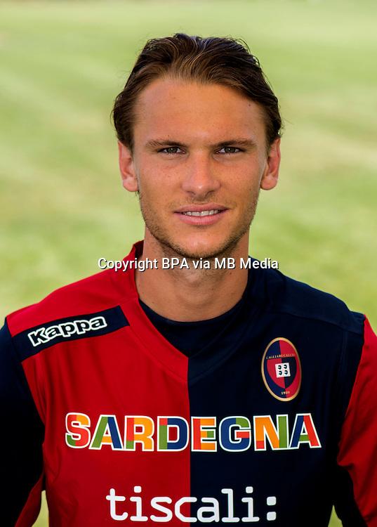 Italian League Serie A -2014-2015 / <br /> Albin Ekdal ( Cagliari Calcio )