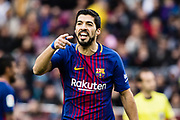 Luis Suarez of FC Barcelona during the Spanish championship Liga football match between FC Barcelona and Celta de Vigo on December 2, 2017 at Camp Nou Stadium in Barcelona, Spain - Photo Xavier Bonilla / Spain ProSportsImages / DPPI / ProSportsImages / DPPI