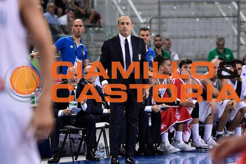 DESCRIZIONE: Torino FIBA Olympic Qualifying Tournament Italia - Messico<br /> GIOCATORE: Ettore Messina<br /> CATEGORIA: Nazionale Italiana Italia Maschile Senior<br /> GARA: FIBA Olympic Qualifying Tournament Italia - Messico<br /> DATA: 08/07/2016<br /> AUTORE: Agenzia Ciamillo-Castoria