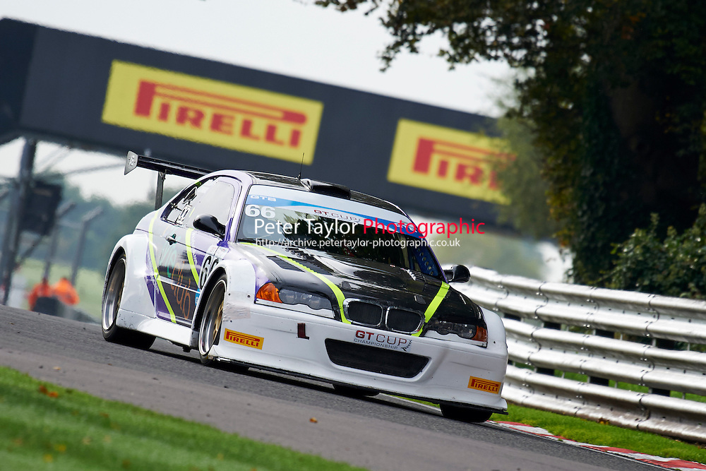#66 Michael SYMONS  BMW M3 V8 GTR during GT Cup - Qualifying as part of the MSVR Oulton Park 10th October 2015 at Oulton Park, Little Budworth, Cheshire, United Kingdom. October 10 2015. World Copyright Taylor/PSP. Copy of publication required for printed pictures.  Every used picture is fee-liable. http://archive.petertaylor-photographic.co.uk
