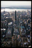 New York, view from empire state building..May 2000
