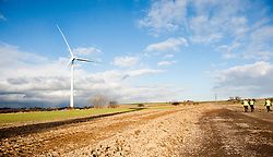 Ulley Wind Farm..13  March  2013.Image © Paul David Drabble