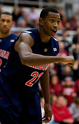 February 27, 2010; Stanford, CA, USA;  Arizona Wildcats guard Kyle Fogg (21) during the second half against the Stanford Cardinal at Maples Pavilion.  Arizona defeated Stanford 71-69.