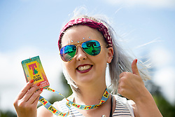 Meg Elvidge. In the main site for the opening of T in the Park 2016,Friday 8/9/2016.