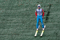 Marjan Jelenko during Slovenian summer national championship and opening of the reconstructed Bloudek's hill in Planica on October 14, 2012 in Planica, Ratece, Slovenia. (Photo by Grega Valancic / Sportida)