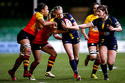 Vicky Laflin of Worcester Warriors Women - Mandatory by-line: Robbie Stephenson/JMP - 11/01/2020 - RUGBY - Sixways Stadium - Worcester, England - Worcester Warriors Women v Richmond Women - Tyrrells Premier 15s