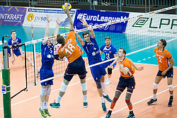 Robbert Andringa of The Netherlands during volleyball match between national teams of Slovenia and Netherlands of 2018 CEV volleyball Godlen European League, on June 6, 2018 in Arena Bonifika, Koper, Slovenia. Photo by Urban Urbanc / Sportida