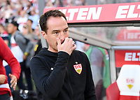 Fussball  1. Bundesliga / 2. Bundesliga  Saison 2018/2019  Relegation Hinspiel VfB Stuttgart - Union Berlin      23.05.2019 Trainer Nico Willig (VfB Stuttgart) nachdenklich ----DFL regulations prohibit any use of photographs as image sequences and/or quasi-video.----
