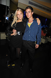 LADY NATASHA HOWARD and LUKE THOMSON at Tallulah Rufus-Isaac's 21st birthday party held at The Kingley Club, 4 Upper St Martin's Lane, London on 24th September 2008.