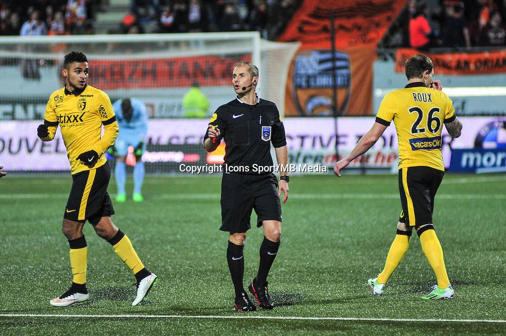 Philippe Kalt  - 17.01.2015 - Lorient / Lille - 21eme journee de Ligue 1 <br /> Photo : Phillipe Le Brech / Icon Sport