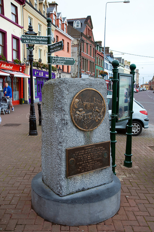 Titanic Memorial in the town of Cobh, Cork, Ireland. Cobh was the last port of called for the RMS Titanic on its fatefull voyage in 1912.