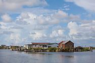 Fishing camps in Plaquemines Parish Louisiana.