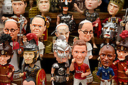 Booblehead Popes and others sold by vendors outside the Vatican, Rome, Italy