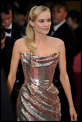Diane Kruger arrives on the Red Carpet for the Premiere of Amour during the 65th Annual Cannes Film Festival at Palais des Festivals, Cannes, France, Sunday May 20, 2012. Photo by Andrew Parsons/i-Images.
