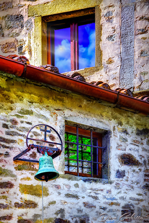 """Bell and Reflections at St. Francis Convent of Celle – Cortona""…<br />