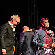 NLD/Amsterdam/20130211- Uitreiking Edison Pop 2013, Racoon