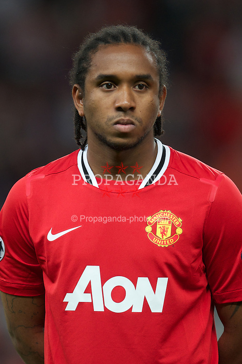 MANCHESTER, ENGLAND - Tuesday, September 27, 2011: Manchester United's Anderson before the UEFA Champions League Group C match against FC Basel 1893 at Old Trafford. (Pic by David Rawcliffe/Propaganda)