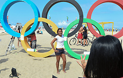 30.07.2016, Österreich Haus, Rio de Janeiro, BRA, Rio 2016, Olympische Sommerspiele, Austria House, Vorberichte, im Bild Olympia Fan // during the Rio 2016 Olympic Summer Games at the Österreich Haus in Rio de Janeiro, Brazil on 2016/07/30. EXPA Pictures © 2016, PhotoCredit: EXPA/ Erich Spiess
