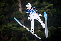 Elena Runggaldier (ITA) during 1st Round at Day 1 of FIS Ski Jumping World Cup Ladies Ljubno 2018, on January 27, 2018 in Ljubno ob Savinji, Ljubno ob Savinji, Slovenia. Photo by Ziga Zupan / Sportida