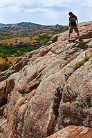 View from Little Baldy, Wichita Mountains National Wildlife Refuge