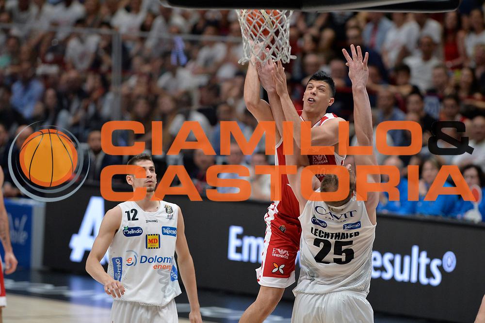 Fontecchio Simone<br /> Olimpia EA7 Emporio Armani Milano vs Dolomiti Energia Trentino<br /> Lega Basket Serie A 2016/2017<br /> PlayOff semifinale gara 2<br /> Milano 27/05/2017<br /> Foto Ciamillo-Castoria / I.Mancini