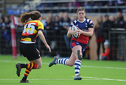 Rhi Parker of Bristol Bears Women in action - Mandatory by-line: Nizaam Jones/JMP - 23/03/2019 - RUGBY - Shaftesbury Park - Bristol, England - Bristol Bears Women v Richmond Women- Tyrrells Premier 15s