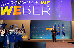24.05.2019, Kongress Zentrum, Muenchen, GER, Europawahl 2019, Schlusskundgebung der EVP, im Bild Manfred Weber // during the final EPP rally on the 2019 European elections at the Kongress Zentrum in Muenchen, Germany on 2019/05/24. EXPA Pictures © 2019, PhotoCredit: EXPA/ SM<br /> <br /> *****ATTENTION - OUT of GER*****