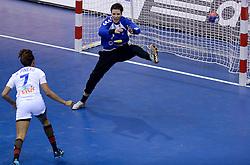 10-12-2013 HANDBAL: WERELD KAMPIOENSCHAP NEDERLAND - FRANKRIJK: BELGRADO <br /> 21st Women s Handball World Championship Belgrade, Nederland verliest met 23-19 van Frankrijk / Marieke van der Wal<br /> ©2013-WWW.FOTOHOOGENDOORN.NL