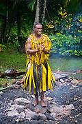Fijian Firewalking Ceremony at Outrigger on the Lagoon Resort, Viti Levu Island, Fiji
