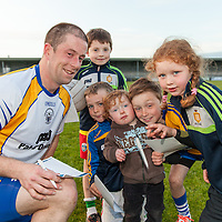 Clare's Sean Haugh signing his Autograph for young Clare Supporters