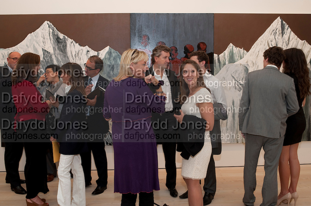 Indonesian Eye Contemporary Art Exhibition Reception, Saatchi Gallery. London. 9 September 2011. <br /> <br />  , -DO NOT ARCHIVE-&copy; Copyright Photograph by Dafydd Jones. 248 Clapham Rd. London SW9 0PZ. Tel 0207 820 0771. www.dafjones.com.
