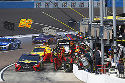 March 11, 2018 - Avondale, Arizona, United States of America - March 11, 2018 - Avondale, Arizona, USA: Martin Truex, Jr (78) brings his car down pit road for service during the Ticket Guardian 500(k) at ISM Raceway in Avondale, Arizona. (Credit Image: © Chris Owens Asp Inc/ASP via ZUMA Wire)