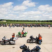 Warrior Run at Coziahr Harley Davidson in Forsyth, Illinois