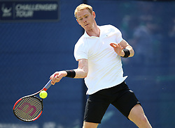Great Britain's Edward Corrie during day one of the Nature Valley Open at Nottingham Tennis Centre.