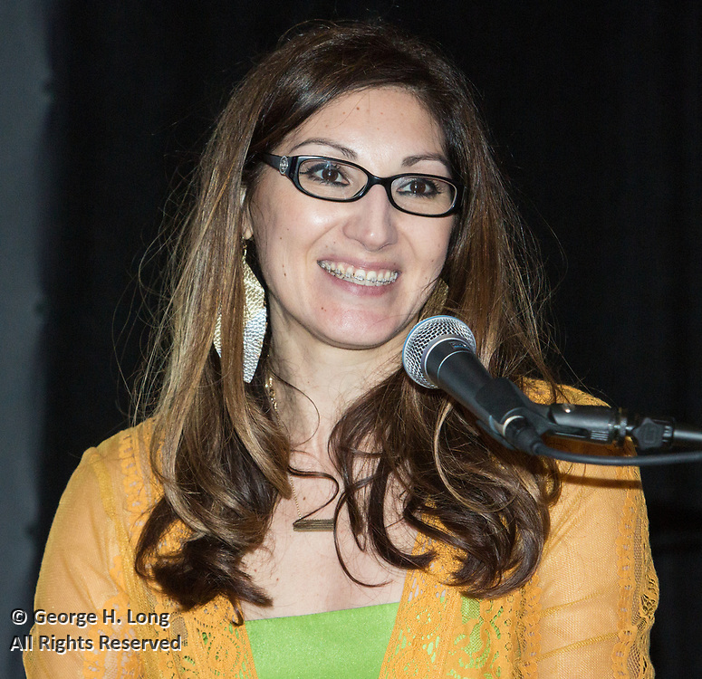 LEH Executive Director Miranda Restovic at Louisiana Endowment for the Humanities Bright Lights Awards Dinner at Popp Fountain in City Park of New Orleans on May 10, 2018