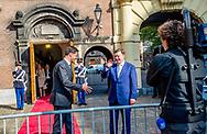 DEN HAAG - Minister-president Rutte ontvangt minister-president Kucinskis van Letland voor een werklunch op het ministerie van Algemene Zaken.   copyright robin utrecht