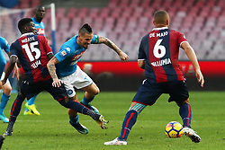 January 28, 2018 - Naples, Italy - MAREK HAMSIK (SSC Napoli).., during the Serie A match between SSC Napoli and FC Bologna at Stadio S. Paolo on January 28, 2018 in Naples, Italy  (Credit Image: © Paolo Manzo/NurPhoto via ZUMA Press)